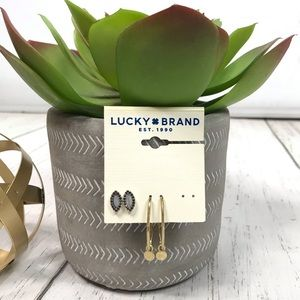 Lucky Brand Jewelry - Lucky Brand Two Earring Card